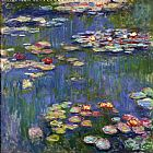 Claude Monet Water Lilies I Print