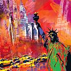 Robert Holzach New York Print