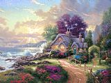 Thomas Kinkade A New Day Dawning Print