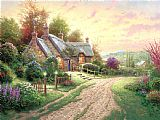 Thomas Kinkade A Peaceful Time Print