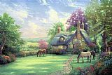 A Perfect Summer Day by Thomas Kinkade