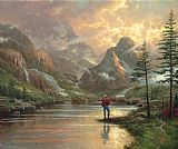 Thomas Kinkade Almost Heaven Print