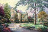 Thomas Kinkade Beyond Summer Gate Print