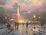 Thomas Kinkade Boston Celebration Print
