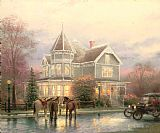 Thomas Kinkade Christmas Memories Print