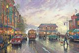 City by The Bay by Thomas Kinkade