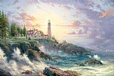 Thomas Kinkade Clearing Storms Print
