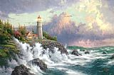 Thomas Kinkade Conquering The Storms Print