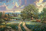 Thomas Kinkade Country Living Print