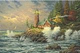 Thomas Kinkade Courage Print