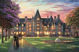 Thomas Kinkade Elegant Evening at Biltmore Print
