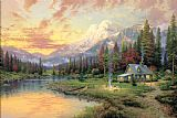 Thomas Kinkade Evening Majesty Print