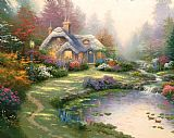 Thomas Kinkade Everett's Cottage Print