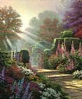 Thomas Kinkade Garden of Grace Print