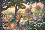 Thomas Kinkade Gone with The Wind Print