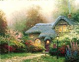 Thomas Kinkade Heather's Hutch Print