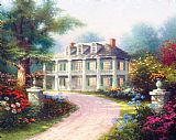 Thomas Kinkade Homestead House Print