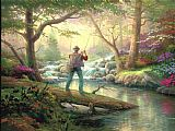 Thomas Kinkade It Doesn't Get Much Better Print