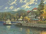 Thomas Kinkade Lake Arrowhead Print