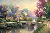 Thomas Kinkade Lamplight Manor Print