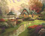 Make a Wish Cottage by Thomas Kinkade
