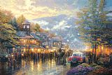 Thomas Kinkade Mountain Memories Print
