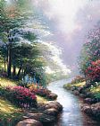 Thomas Kinkade Petals of Hope Print