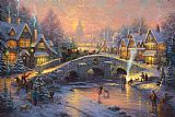 Thomas Kinkade Spirit of Christmas Print