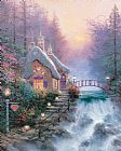 Thomas Kinkade Sweetheart Cottage Ii Print