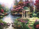 Thomas Kinkade The Garden of Prayer Print