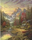 Thomas Kinkade The Good Life Print