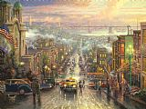 Thomas Kinkade The Heart of San Francisco Print