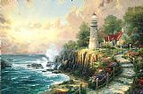 Thomas Kinkade The Light of Peace Print