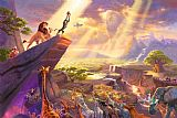 Thomas Kinkade The Lion King Print