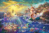 Thomas Kinkade The Little Mermaid Print