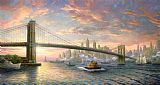 Thomas Kinkade The Spirit of New York Print