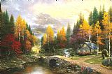 Thomas Kinkade The Valley of Peace Print