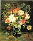 Vincent van Gogh Vase with Carnations Print