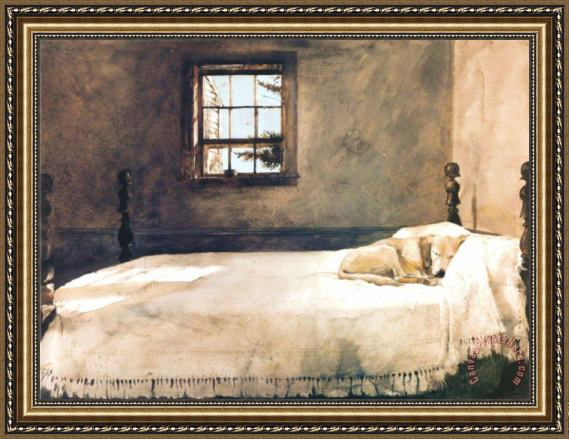 andrew wyeth master bedroom framed print for sale 14379 | andrew wyeth master bedroom print l 29908 fn5 30x22