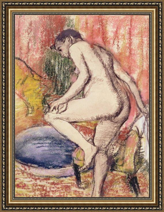 Edgar Degas The Toilet Framed Print