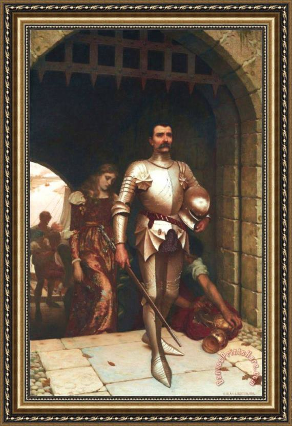 Edmund Blair Leighton Conquest Framed Print