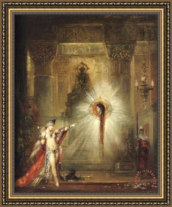 Gustave Moreau The Apparition II Framed Print