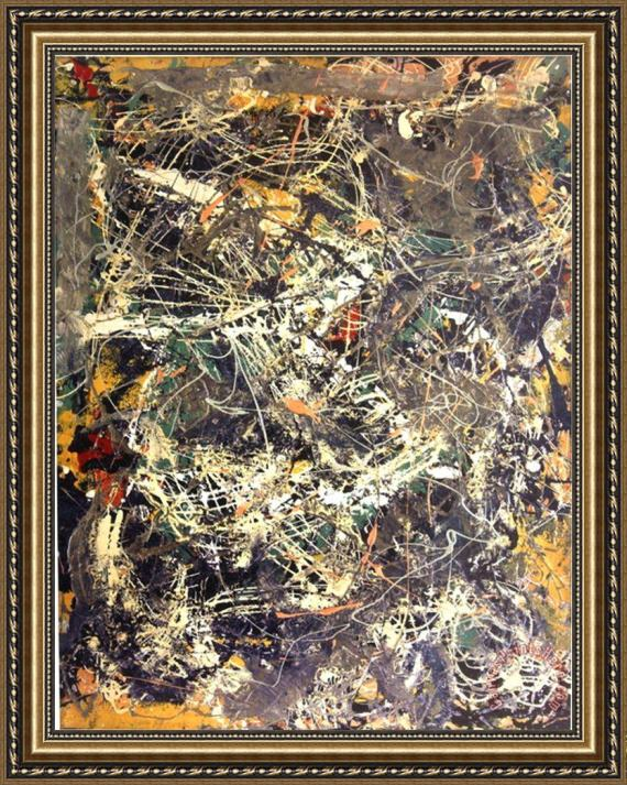 Jackson Pollock Untitled 1949 Framed Print