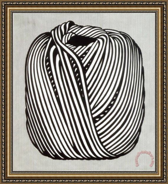 Roy Lichtenstein Ball of Twine 1963 Framed Print