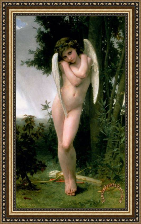 William Adolphe Bouguereau Cupidon Framed Print