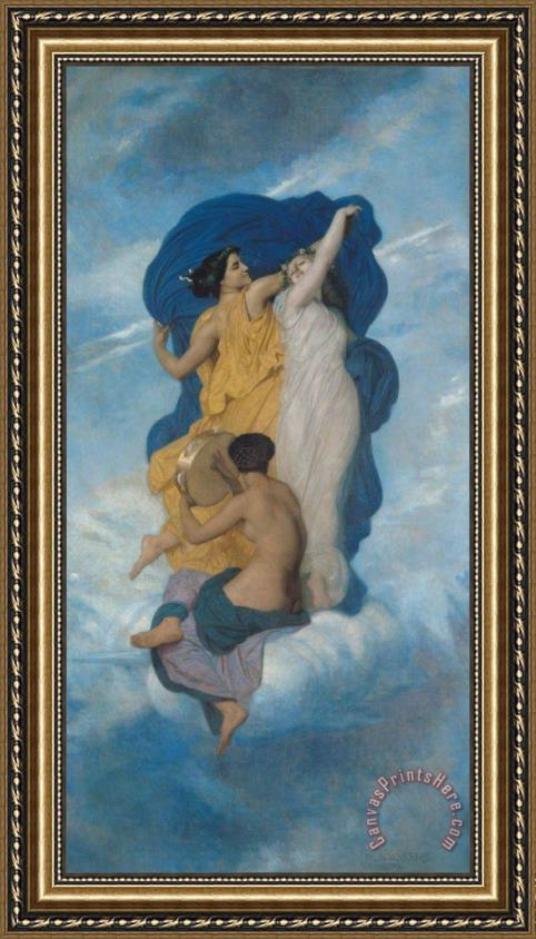 William Adolphe Bouguereau The Dance Framed Print