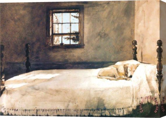 . andrew wyeth Master Bedroom Art Print for sale   CanvasPrintsHere com