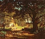 The House in the Woods by Albert Bierstadt
