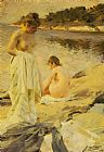 Anders Leonard Zorn The Bathers Print