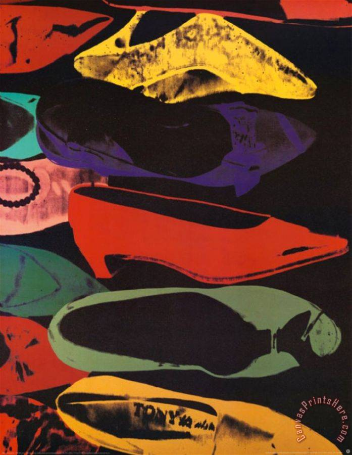 Andy Warhol Shoes 1980 Art Print